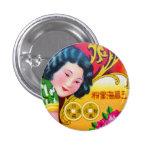 Botón viejo de Shangai Pins