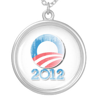 Botón Vintage png de Obama 2012 Colgante