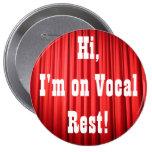 Botón vocal del resto pin