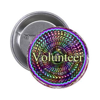 Botón voluntario pins