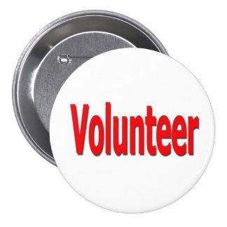 botón voluntario pin