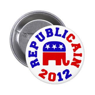 Botones 2012 de la elección de Republicain Herman  Pin Redondo De 2 Pulgadas