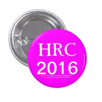 Botones 2016 de HRC Hillary Rodham Clinton