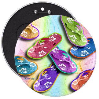 Botones - arte pop de los FLIPS-FLOPES Pins