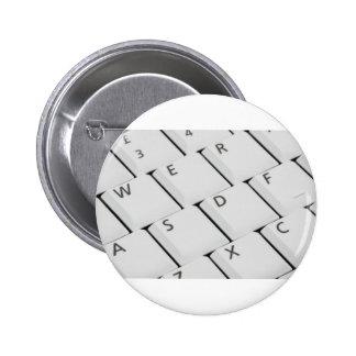 Botones blancos del teclado pin