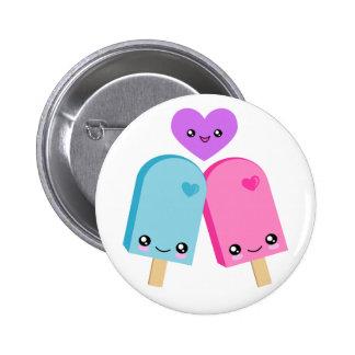 Botones bonitos de los Popsicles BFF Kawaii Pins