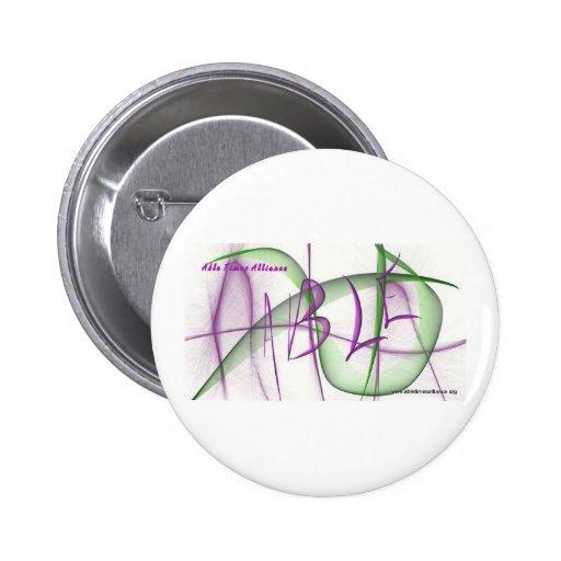 Botones capaces de Alliance de las épocas Pin Redondo De 2 Pulgadas