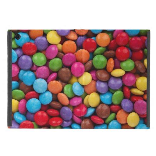 Botones coloridos del chocolate iPad mini protectores
