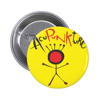 Botones de Acupunkture Pin Redondo De 2 Pulgadas