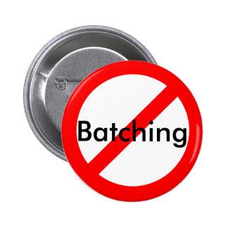 Botones de Anti-Procesamiento por lotes por lotes Pin Redondo De 2 Pulgadas