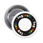 Botones de Fagtastic (círculo) Pin