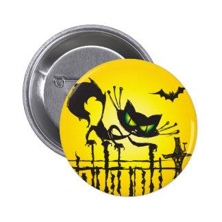 ¡Botones de Halloween para el truco o Treaters! Pin Redondo De 2 Pulgadas