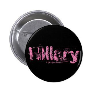 Botones de HILLARY Pinback Pin Redondo De 2 Pulgadas