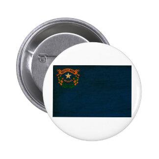 Botones de la bandera de Nevada Pin