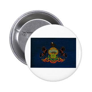Botones de la bandera de Pennsylvania