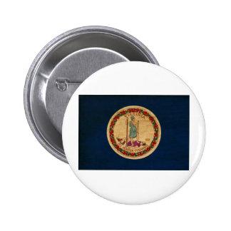 Botones de la bandera de Virginia Pins