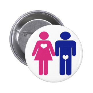 Botones de la diversión de la novedad de VS Mujer
