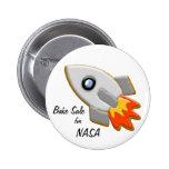 Botones de la galleta de Rocket Pin