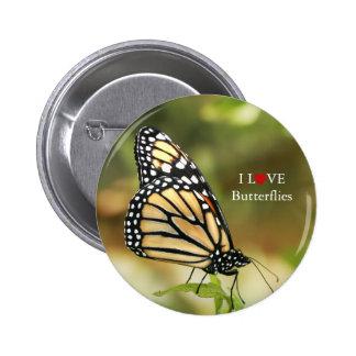 Botones de la mariposa a llevar