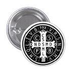 Botones de la medalla del St. Benedicto, todos los Pins
