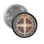 Botones de la medalla del St. Benedicto, todos los Pin