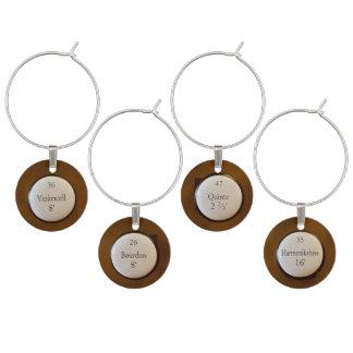 Botones de la parada de órgano identificadores de copas