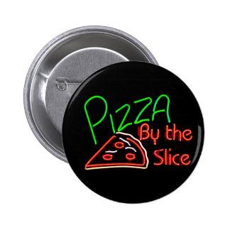 Botones de la pizza pin redondo de 2 pulgadas