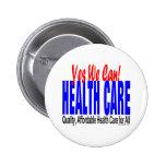 Botones de la reforma de la atención sanitaria pin