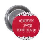 Botones de la reina pin
