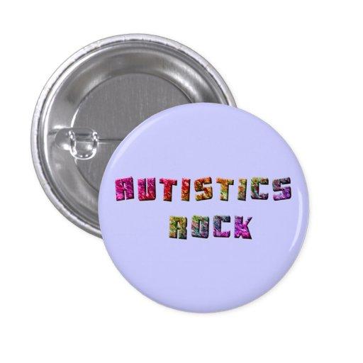 Botones de la roca de Autistics