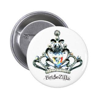 Botones de la tiara de BrideZilla
