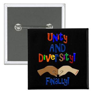 Botones de la unidad y de la diversidad pin