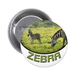 Botones de las insignias del safari de la fauna de pin redondo de 2 pulgadas