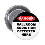 Botones de los apegos del salón de baile pin
