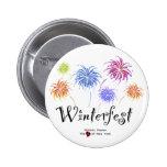 Botones de los fuegos artificiales de Winterfest Pin