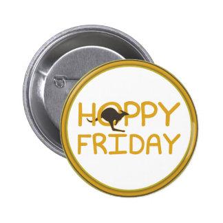 Botones de lúpulo del Pin-detrás de viernes
