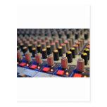 Botones de mezcla del tablero postales