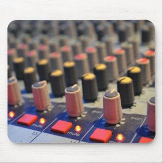 Botones de mezcla del tablero tapete de raton
