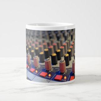 Botones de mezcla del tablero taza grande
