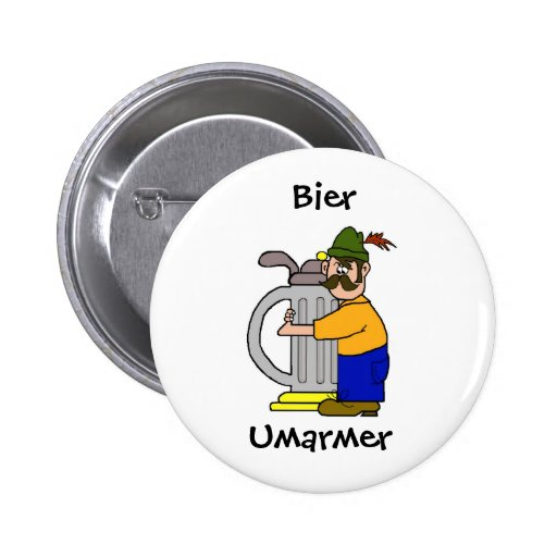 Botones de Umarmer de la féretro   (cerveza Hugger Pin Redondo De 2 Pulgadas