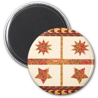 Botones DE VUELTA de los pegatinas del póker de Imán Redondo 5 Cm