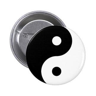 Botones de Yin Yang Pin