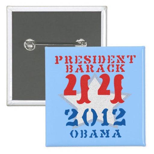 Botones del 2012:44 de Obama