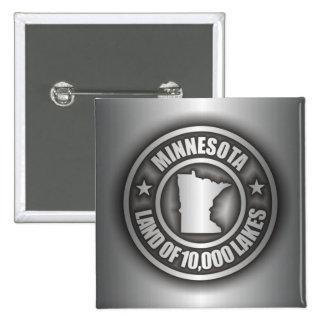 Botones del acero de Minnesota Pins
