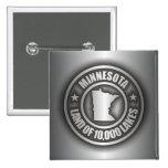 """""""Botones del acero de Minnesota"""" Pins"""