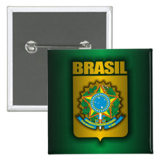 """""""Botones del acero del Brasil"""" Pin"""