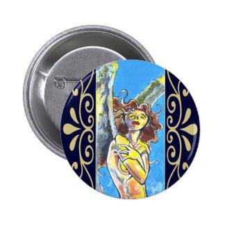 Botones del ángel de guarda pin