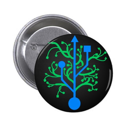 Botones del árbol de USB Pin