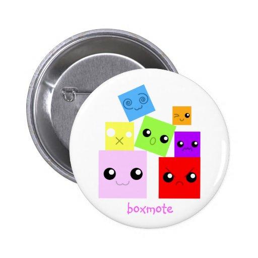 botones del boxmote pin