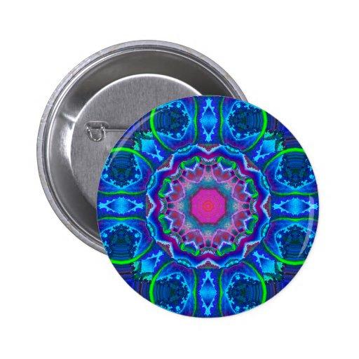 Botones del caleidoscopio de Cyberdelic Pin